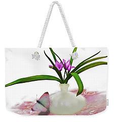 Bouque In Digital Watercolor Weekender Tote Bag