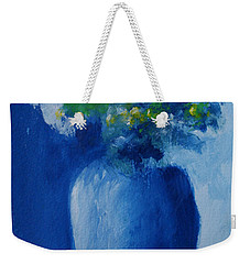 Bouquet In Blue Shadow Weekender Tote Bag