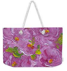 Bouquet Weekender Tote Bag by Judith Rhue