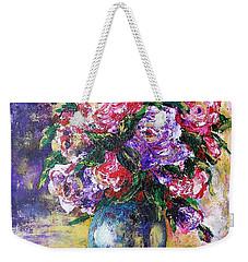 Bouquet Of Scents Weekender Tote Bag by Vesna Martinjak