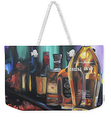 Bourbon Bar Weekender Tote Bag by Donna Tuten