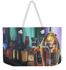 Bourbon Bar Oil Painting Weekender Tote Bag