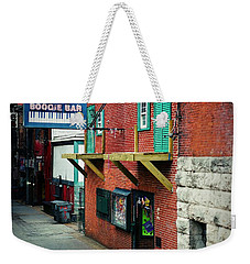 Bourbon Street Blues Weekender Tote Bag