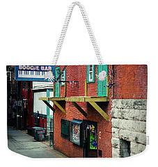 Bourbon Street Blues Weekender Tote Bag by Linda Unger
