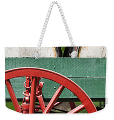 Bourbon Wagon Weekender Tote Bag by Alexey Stiop