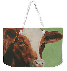Bovine Beauty Weekender Tote Bag