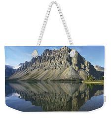 Bow Lake And Crowfoot Mts Banff Weekender Tote Bag