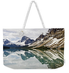 Bow Lake Weekender Tote Bag by Dee Cresswell