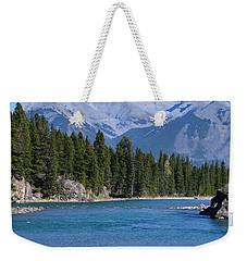Bow River  Weekender Tote Bag