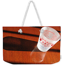 Weekender Tote Bag featuring the photograph Bowling History by Michael Krek