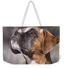 Boxer Painting Weekender Tote Bag