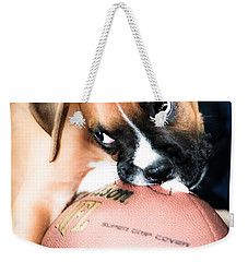 Boxer Puppy Cuteness Weekender Tote Bag