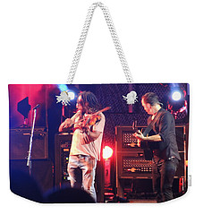 Weekender Tote Bag featuring the photograph Boyd And Dave by Aaron Martens