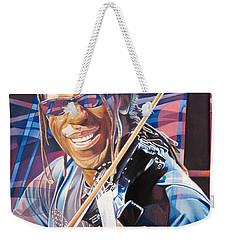 Boyd Tinsley And 2007 Lights Weekender Tote Bag by Joshua Morton