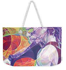 Boyd Tinsley And Circles Weekender Tote Bag by Joshua Morton