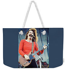 Brad Delp Of Boston-day On The Green 1 In Oakland Ca 5-6-79 1st Release Weekender Tote Bag