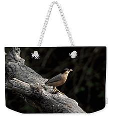 Brahminy Starling Weekender Tote Bag