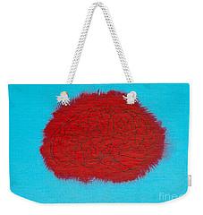 Brain Red Weekender Tote Bag by Stefanie Forck