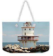 Brandywine Shoal  Lighthouse Weekender Tote Bag