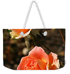 Brass Band Roses In Autumn Weekender Tote Bag