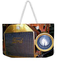 Brass Eye Weekender Tote Bag