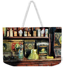 Brass Funnel And Spices Weekender Tote Bag