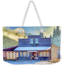 Weekender Tote Bag featuring the photograph Brauer Real Estate Linwood Kansas by Liane Wright