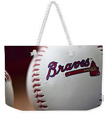 Braves Baseball Weekender Tote Bag