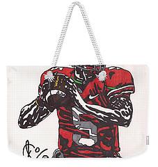 Braxton Miller 1 Weekender Tote Bag
