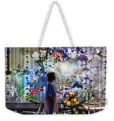 Break Through Weekender Tote Bag