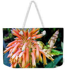 Breakfast For A Hummer Weekender Tote Bag