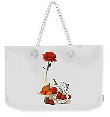 Breakfast For Lovers Weekender Tote Bag by Elf Evans