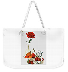 Breakfast For Lovers Weekender Tote Bag
