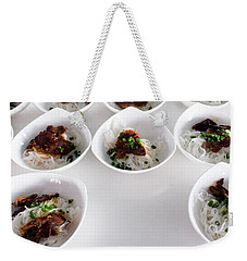 Breakfast Pho Viet Nam Weekender Tote Bag