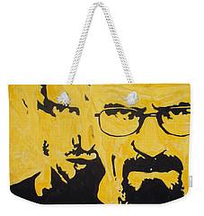 Breaking Bad Yellow Weekender Tote Bag