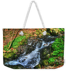 Weekender Tote Bag featuring the photograph Breath Deeply by Doc Braham