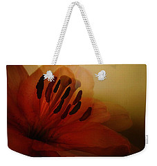 Breath Of The Lily Weekender Tote Bag