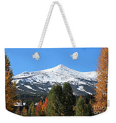 Breckenridge Colorado Weekender Tote Bag by Fiona Kennard