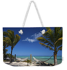 Breezy Island Life Weekender Tote Bag by Adam Romanowicz