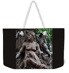 Brewer Fountain Boston Ma Weekender Tote Bag