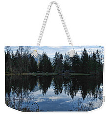 Brewster Lake North Bend Wa Weekender Tote Bag