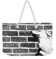 Brick By Brick Weekender Tote Bag