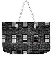 Brick Wall And Windows Weekender Tote Bag