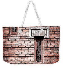 Brick Work Weekender Tote Bag by Melanie Lankford Photography