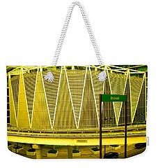 Brickell Station In Miami Weekender Tote Bag
