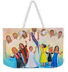 Bridal Invitation Weekender Tote Bag