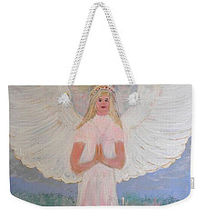 Angel In Prayer  Weekender Tote Bag