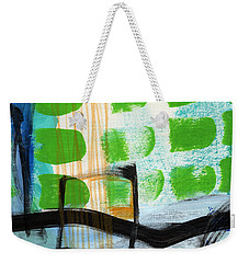 Bridge- Abstract Landscape Weekender Tote Bag