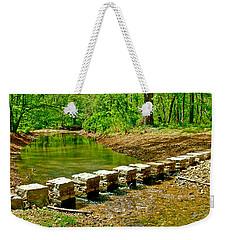 Bridge Across Colbert Creek At Mile 330 Of Natchez Trace Parkway-alabama Weekender Tote Bag