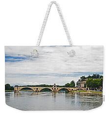 Bridge At Avignon Weekender Tote Bag